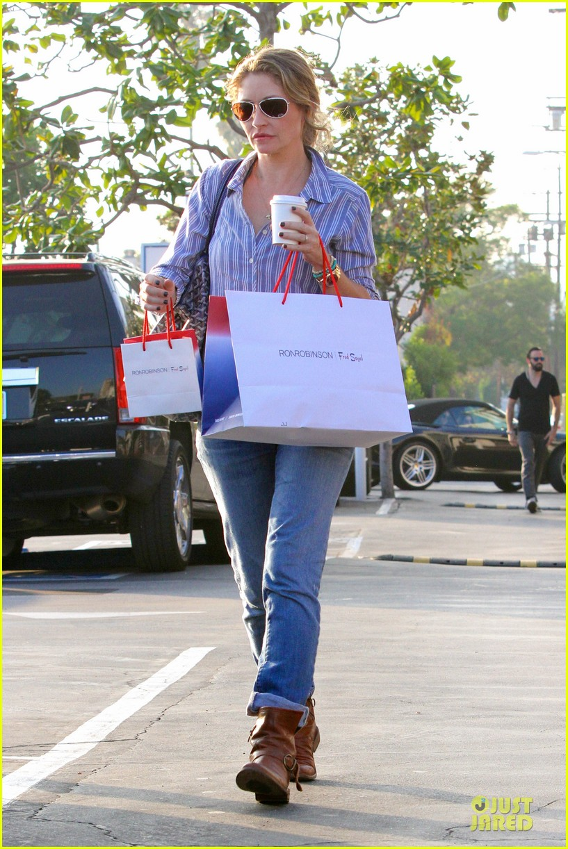 eric dane rebecca gayheart holiday shopping with billie 062764850