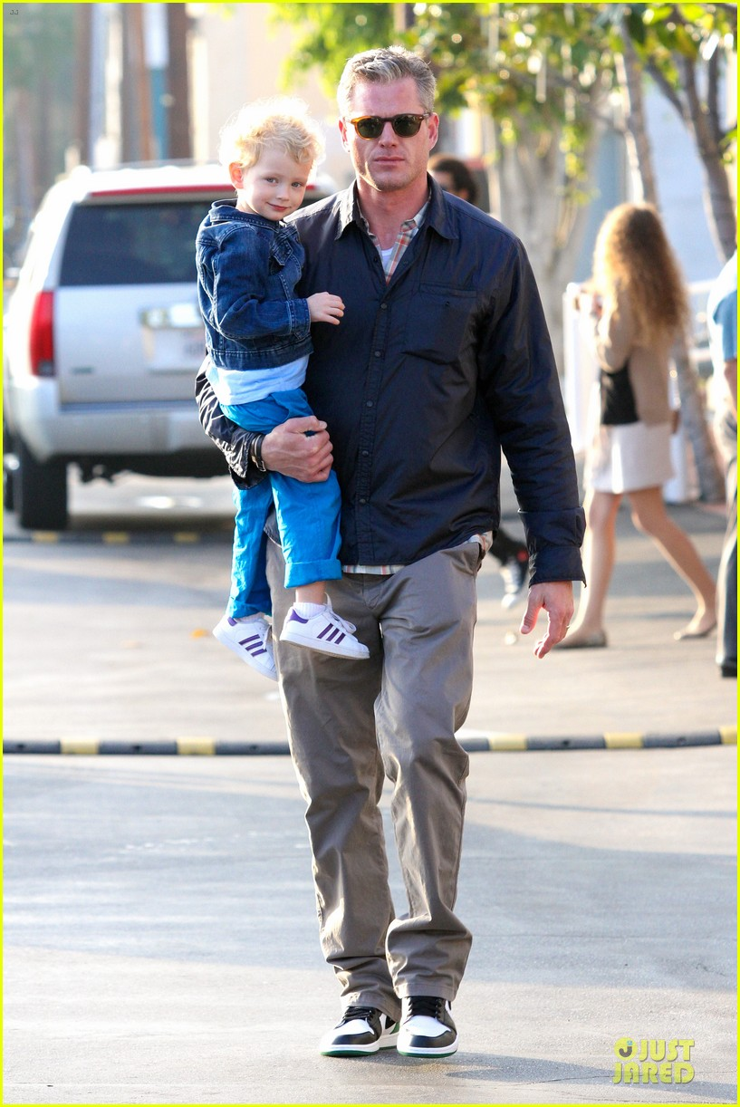 eric dane rebecca gayheart holiday shopping with billie 122764856