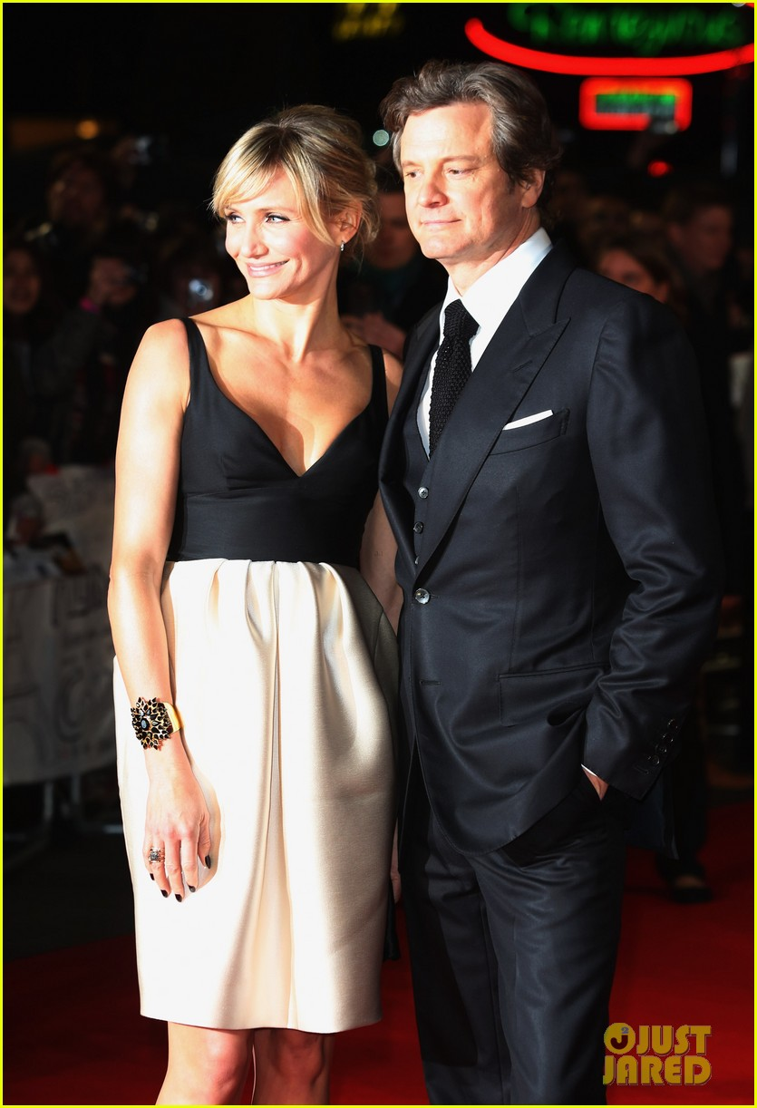 cameron diaz gambit world premiere with colin firth 09