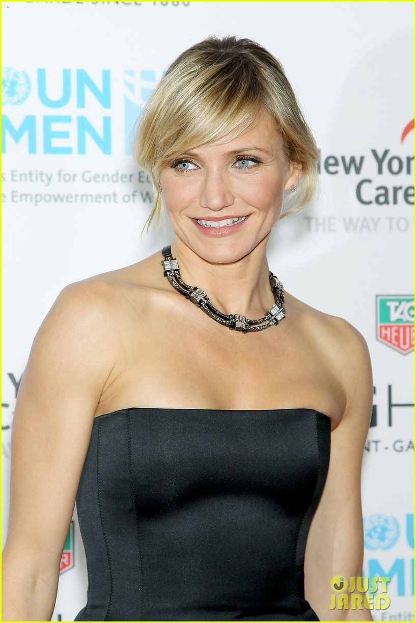 cameron diaz tag heuer watch launch 11