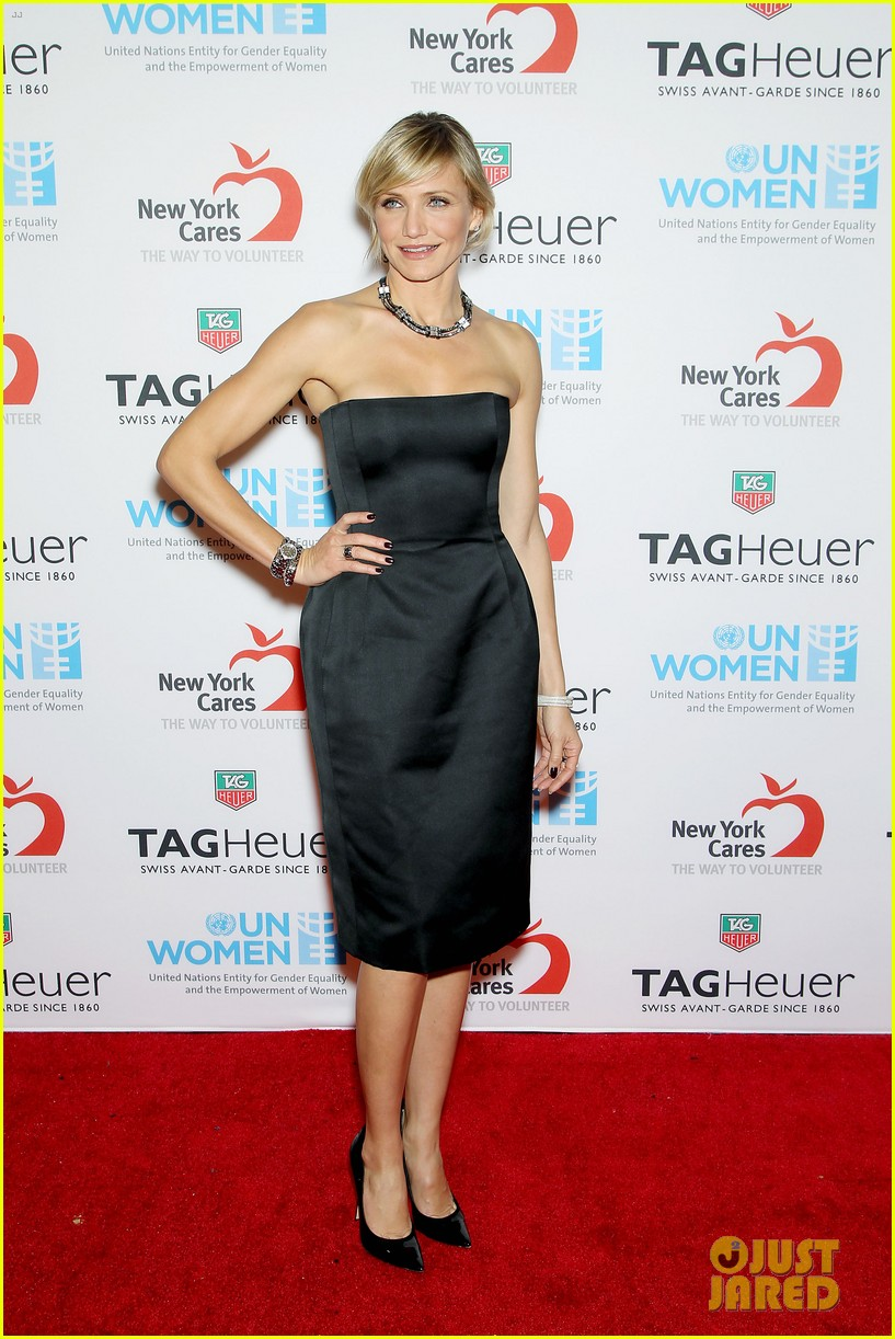 cameron diaz tag heuer watch launch 13
