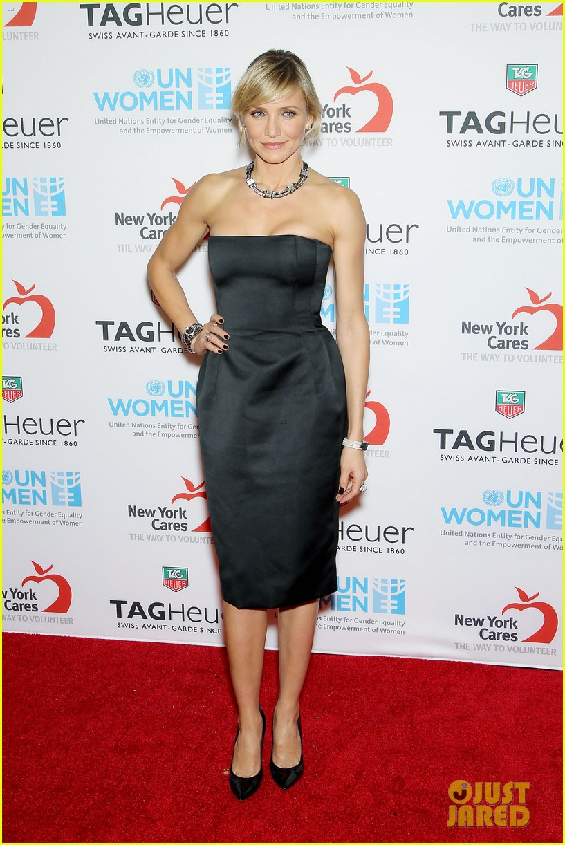 cameron diaz tag heuer watch launch 14