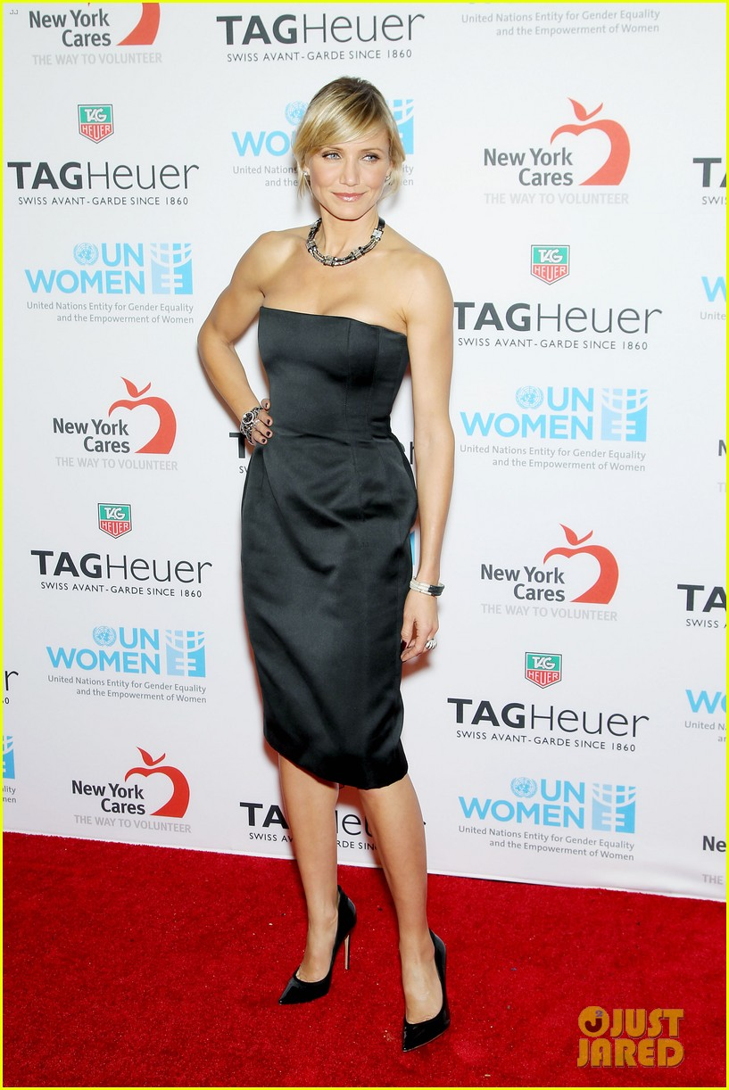 cameron diaz tag heuer watch launch 15