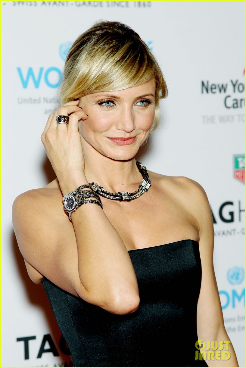 cameron diaz tag heuer watch launch 242754956