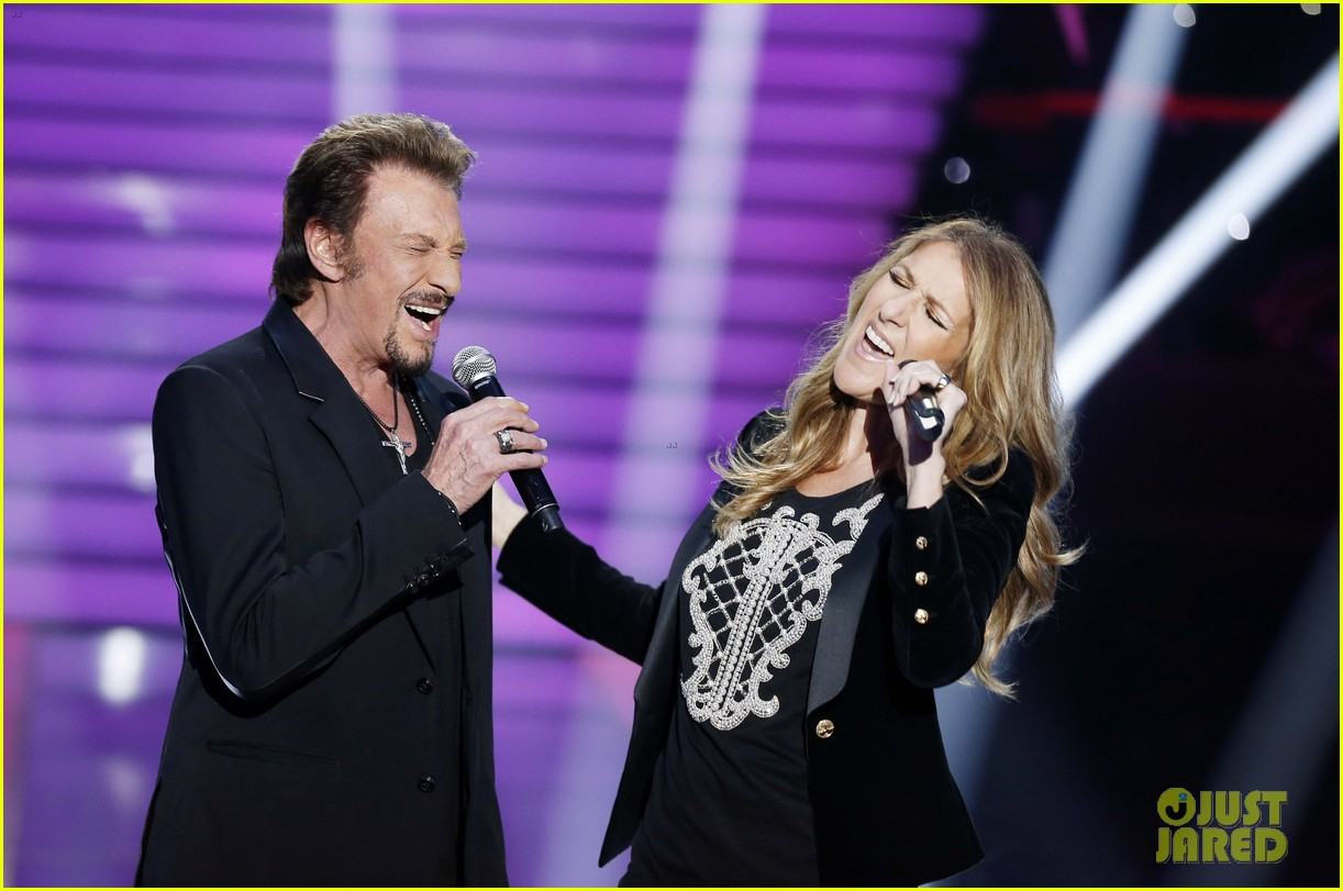 celine dion grand show duet with johnny hallyday 05
