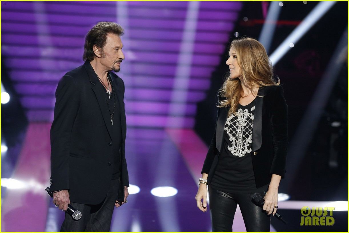 celine dion grand show duet with johnny hallyday 08