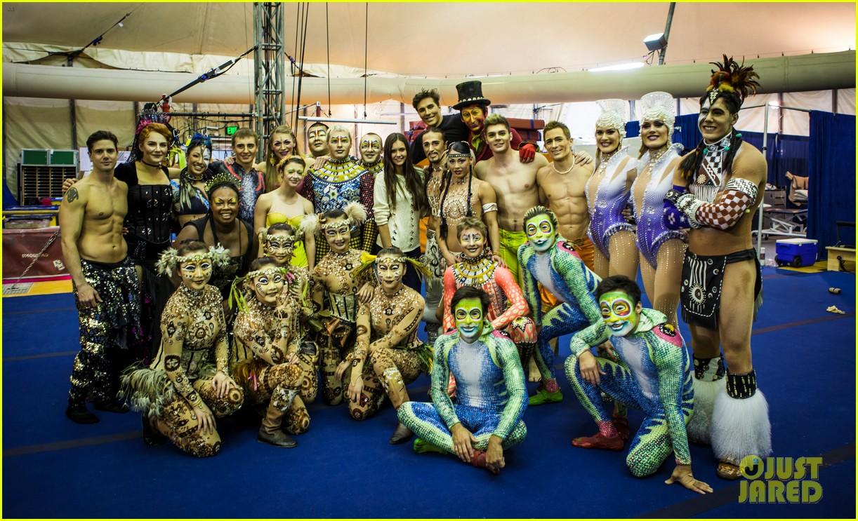 nina dobrev cirque du soleil spectator 032755209