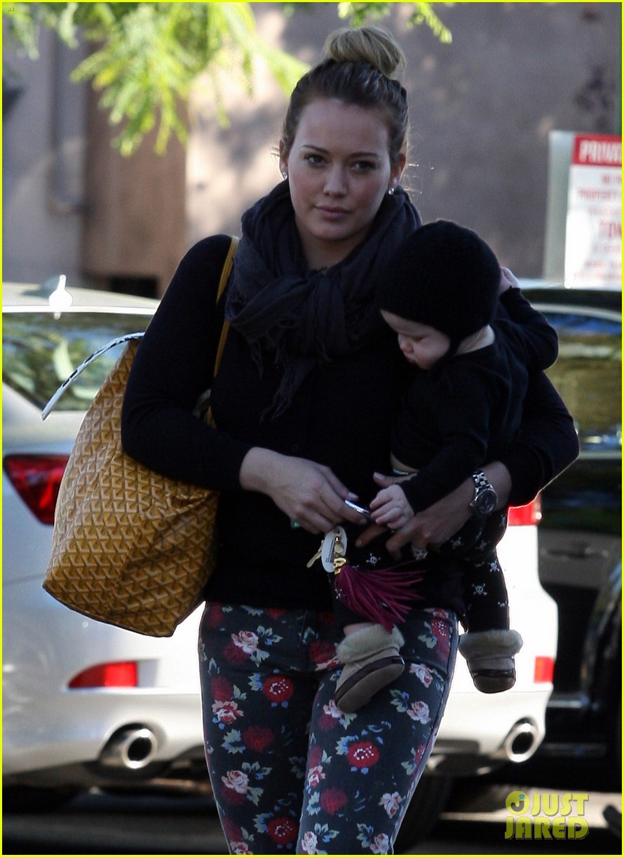 hilary duff bristol farms shopping with luca 162755865