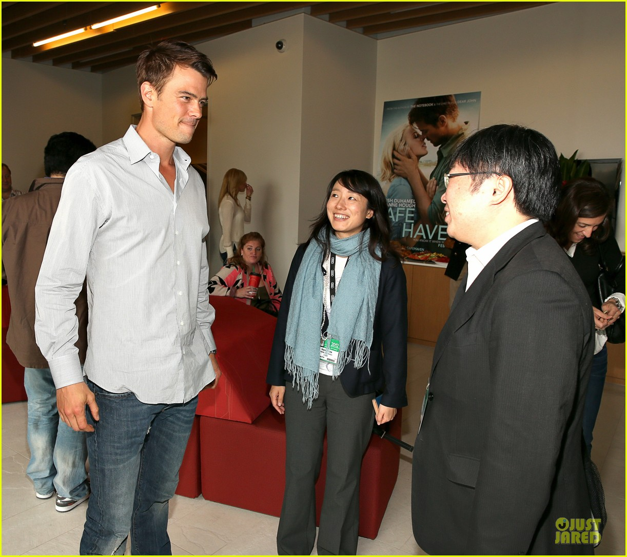 josh duhamel safe haven afi reception 09