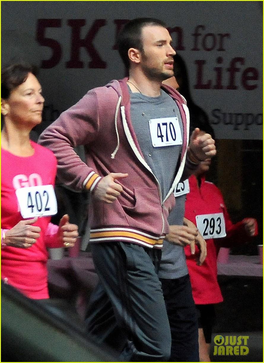 chris evans splintered thing marathon runner 04