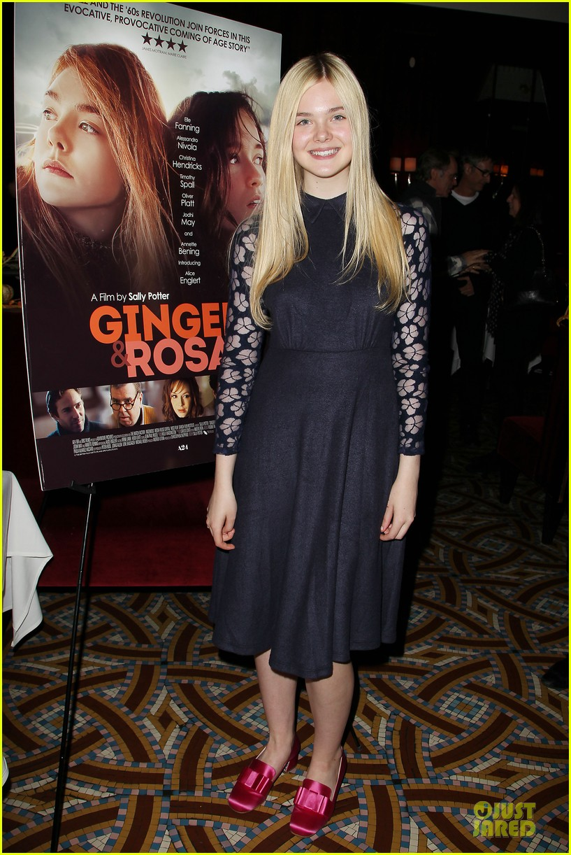 elle fanning ginger & rosa screening after party 01