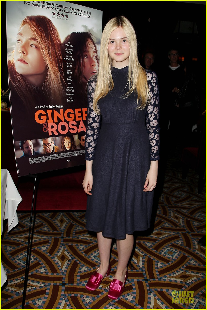 elle fanning ginger & rosa screening after party 08