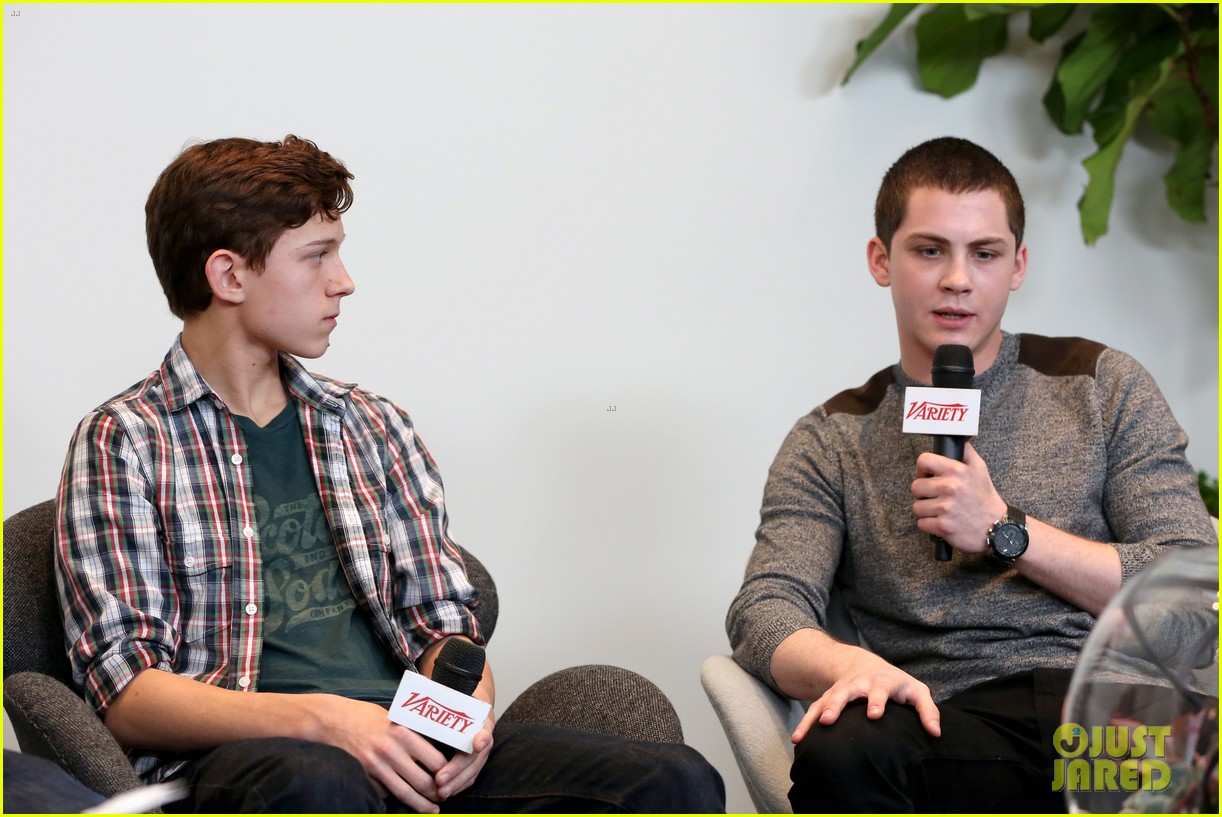 elle fanning logan lerman variety studio awards edition 11