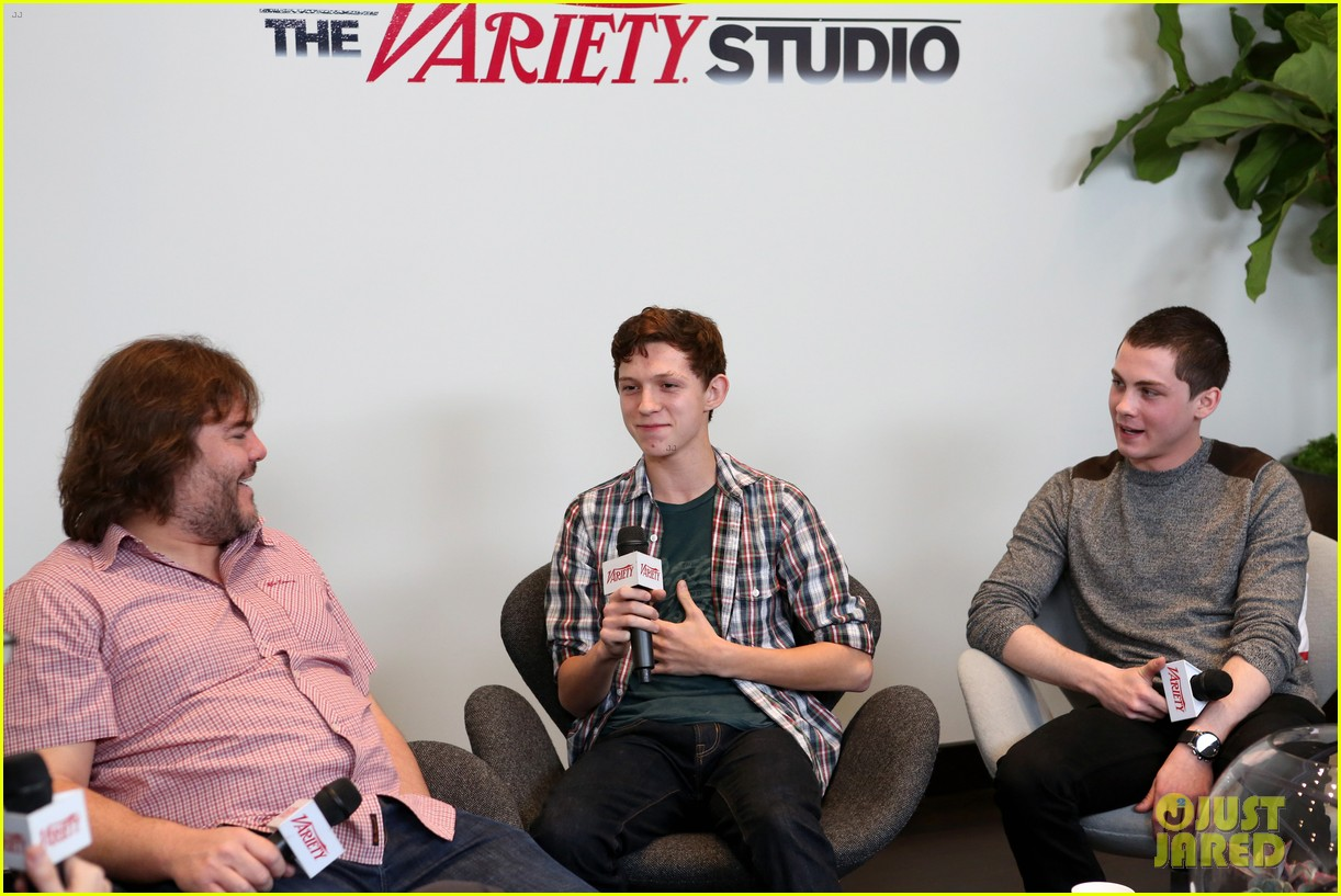 elle fanning logan lerman variety studio awards edition 13