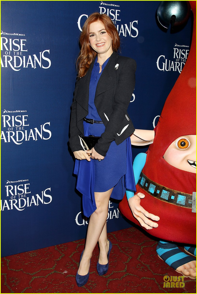 isla fisher rise of the guardians premiere 10