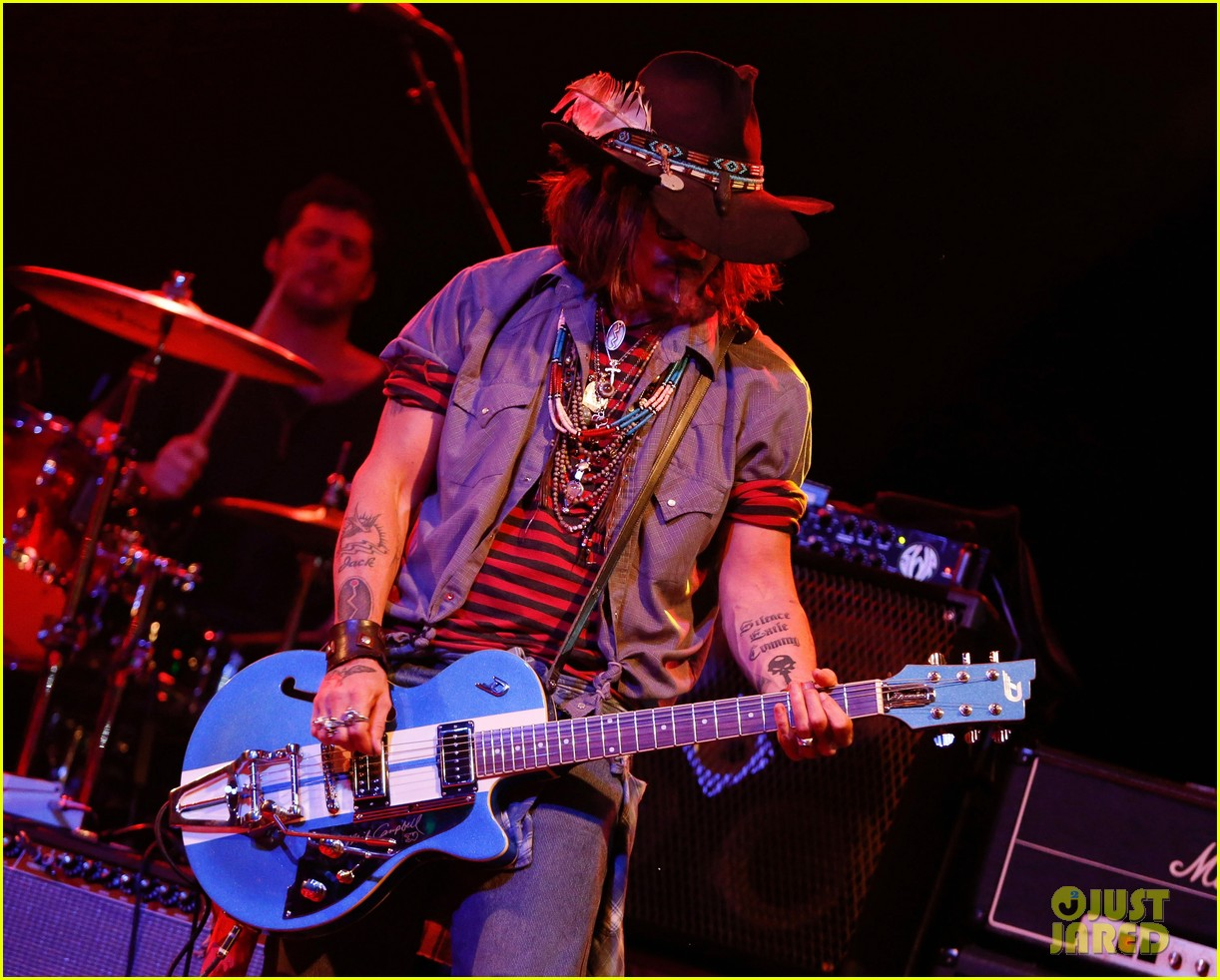 jared followill johnny depp petty fest west players 04