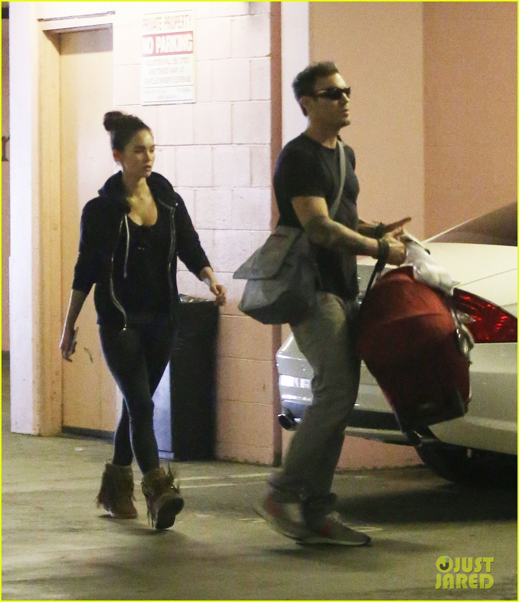 megan fox brian austin green checkup with baby noah 05