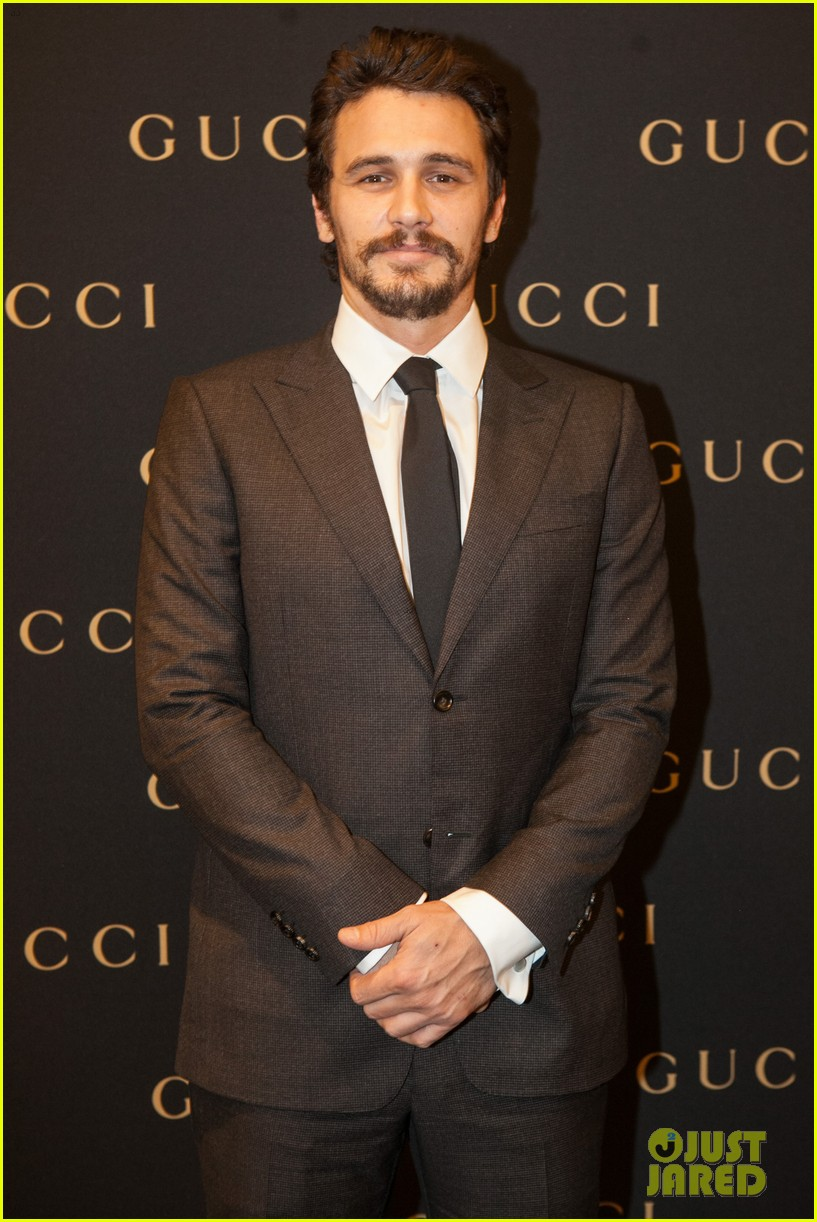 james franco gucci store opening in sao paulo 01