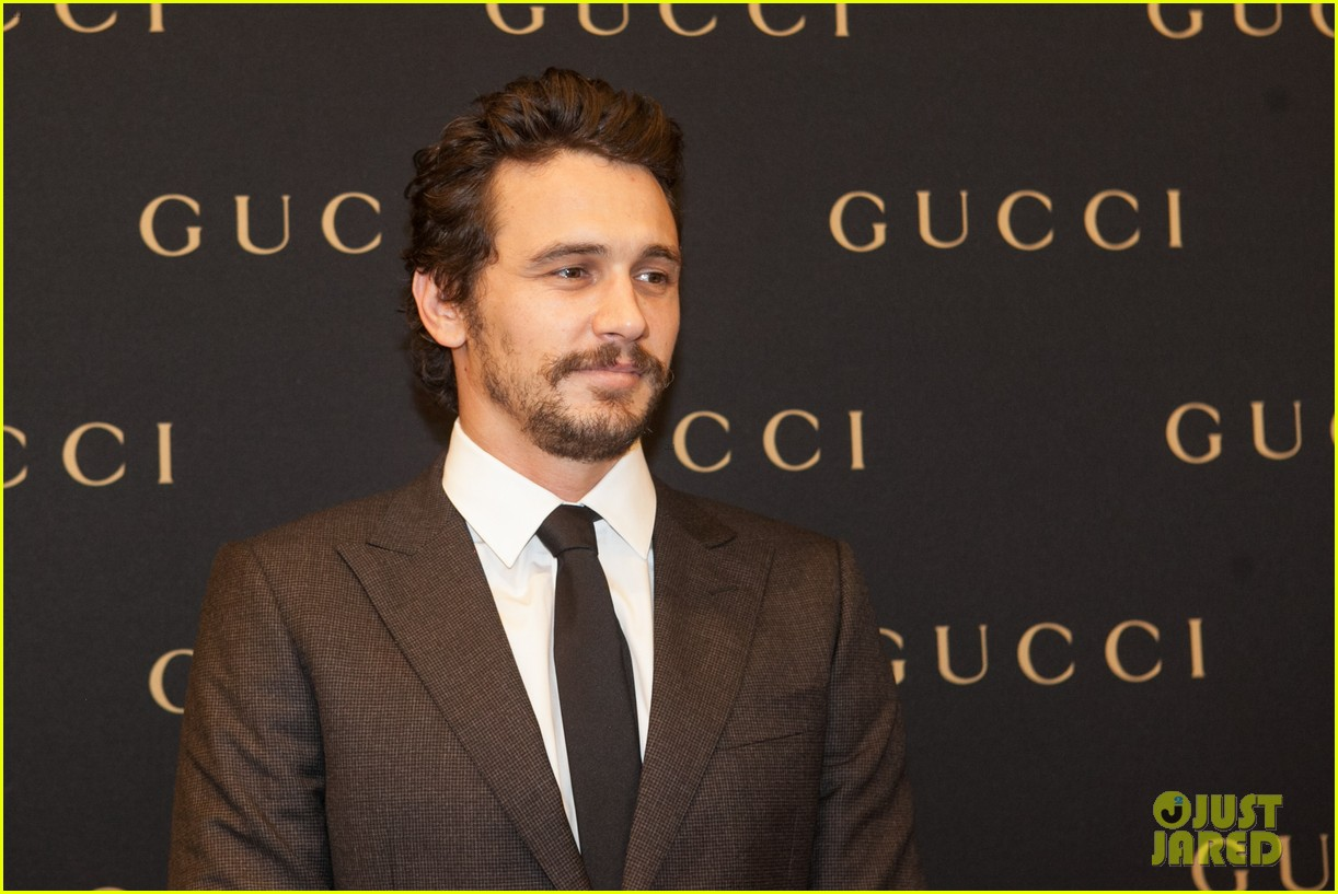 james franco gucci store opening in sao paulo 02