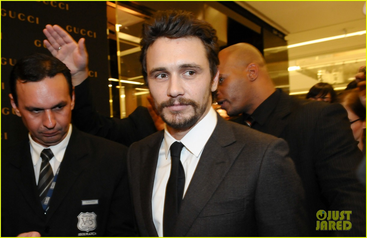 james franco gucci store opening in sao paulo 07