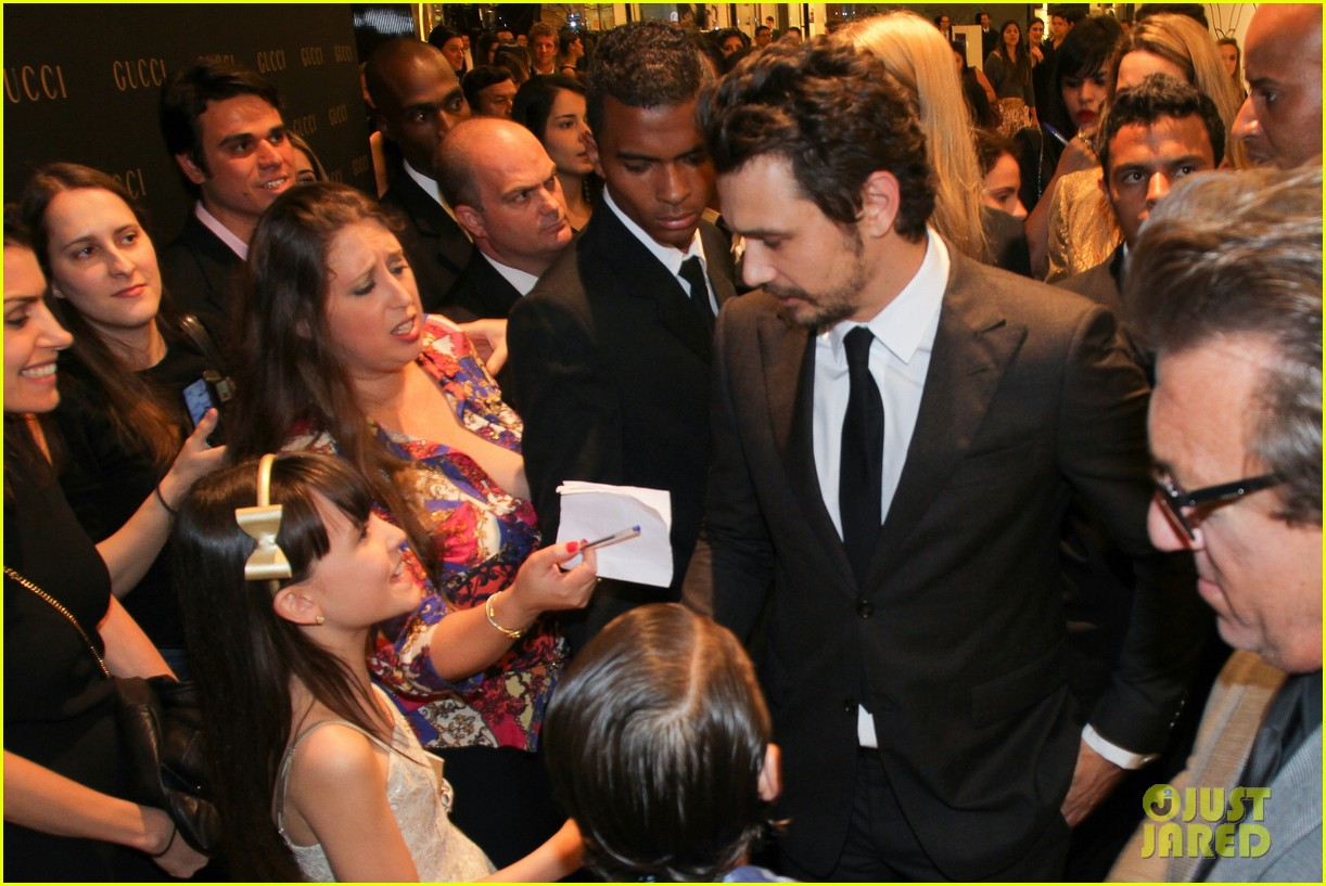 james franco gucci store opening in sao paulo 10