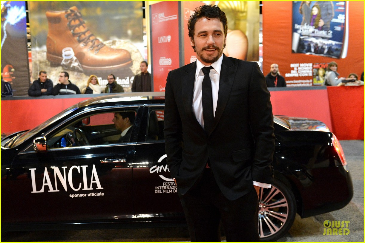 james franco tar rome film festival premiere 02