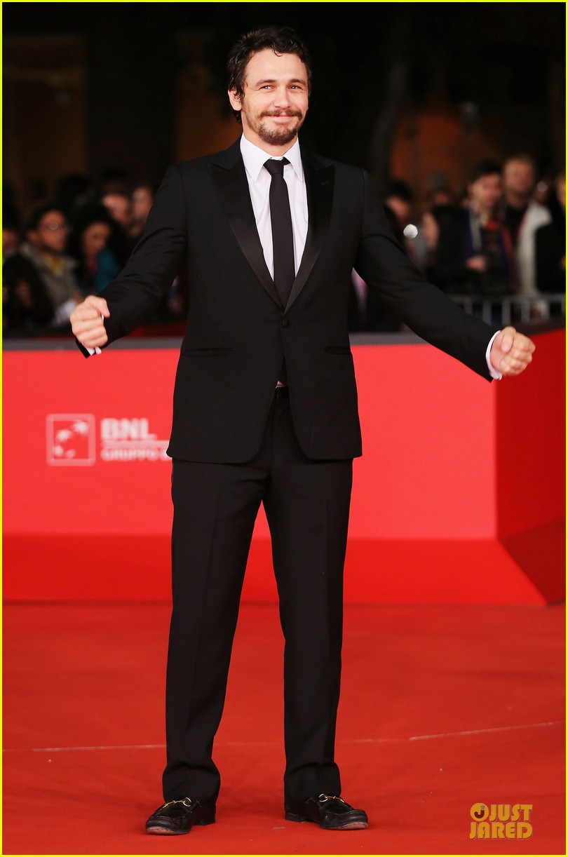 james franco tar rome film festival premiere 09