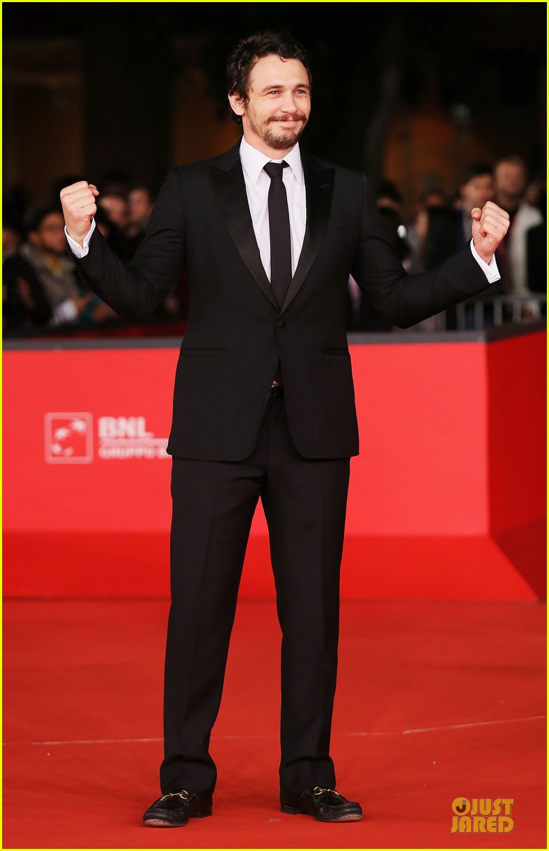james franco tar rome film festival premiere 13