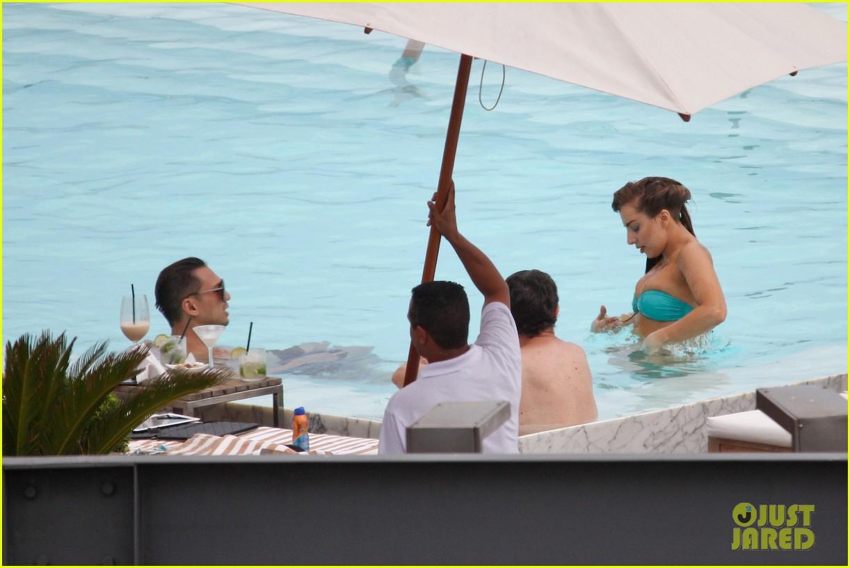 lady gaga bikini poolside babe 22