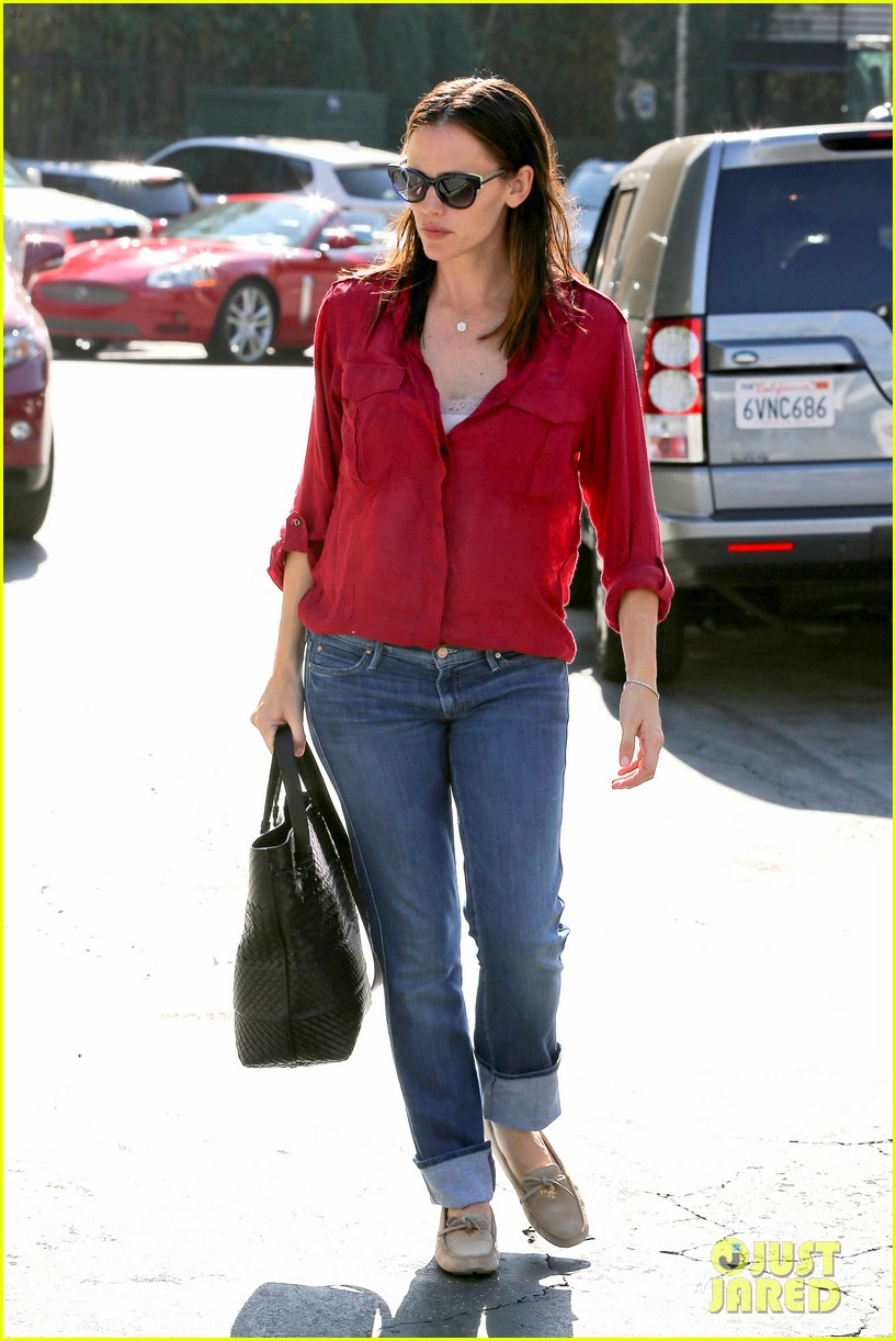 jennifer garner ben affleck family dinner in brentwood 12