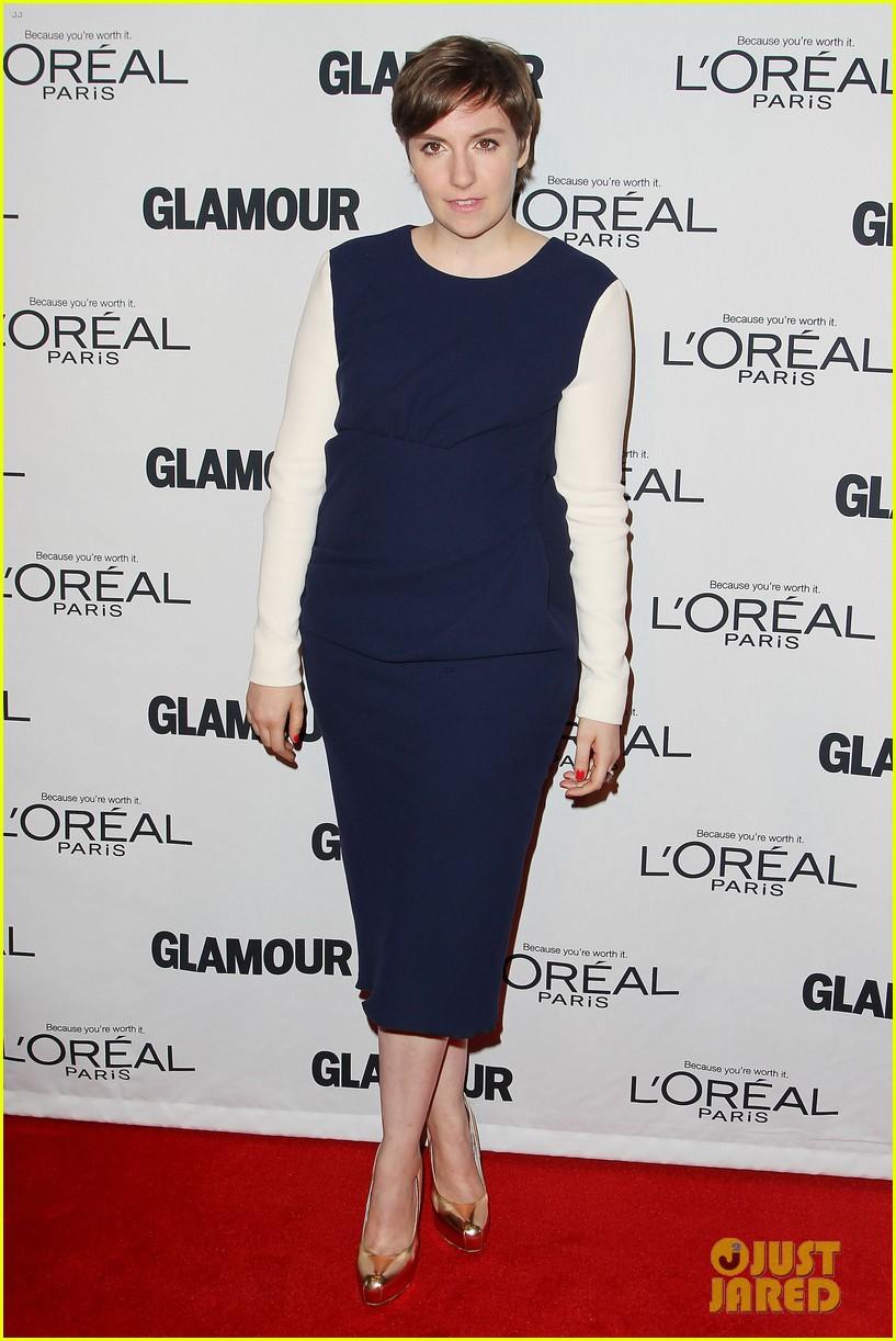 lena dunham glamour women of the year awards 2012 04