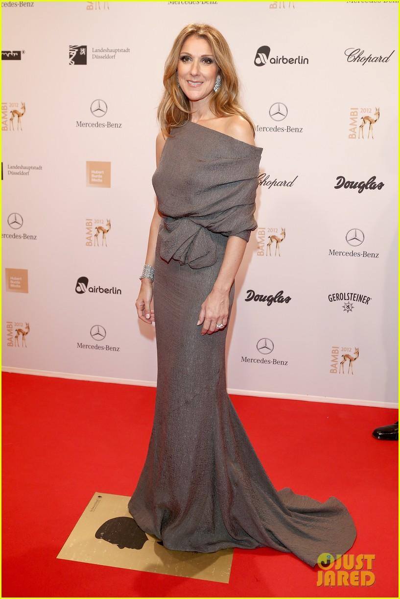 salma hayek celine dion bambi awards 2012 062762684