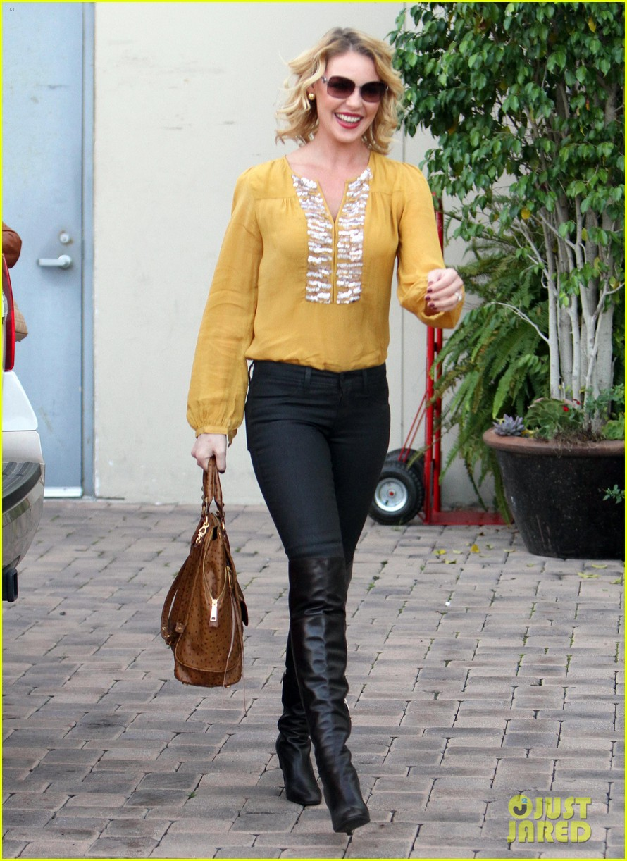 katherine heigl birthday lunch with josh kelley mom nancy 01