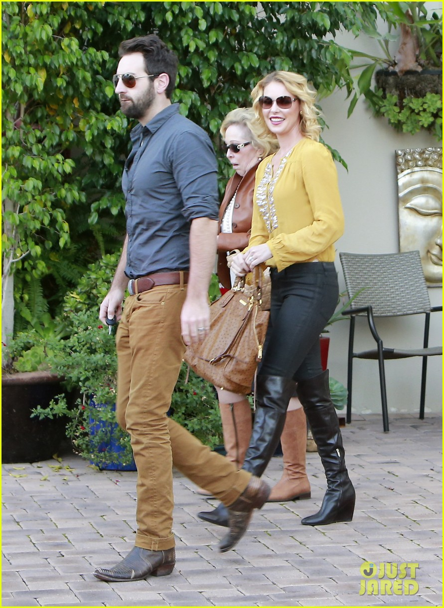 katherine heigl birthday lunch with josh kelley mom nancy 092763528