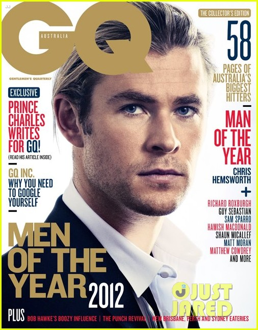 chris hemsworth covers gq australia men of the year issue 052756497