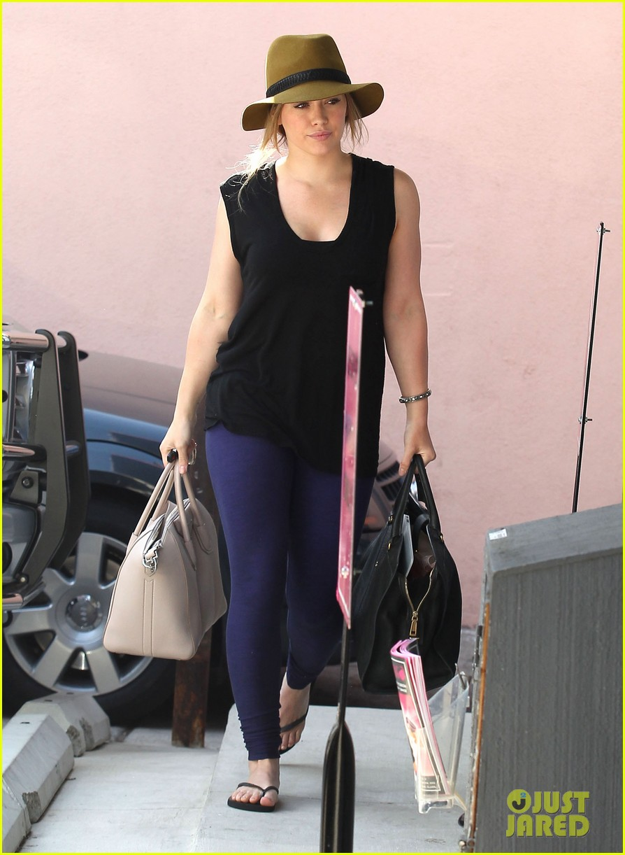 hilary duff chris mcmillan salon appointment 122765387