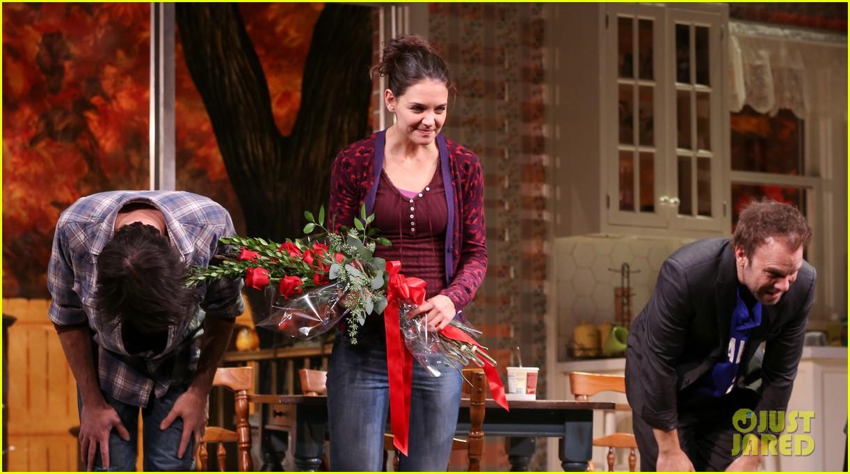 katie holmes dead accounts opening night on broadway 232766522