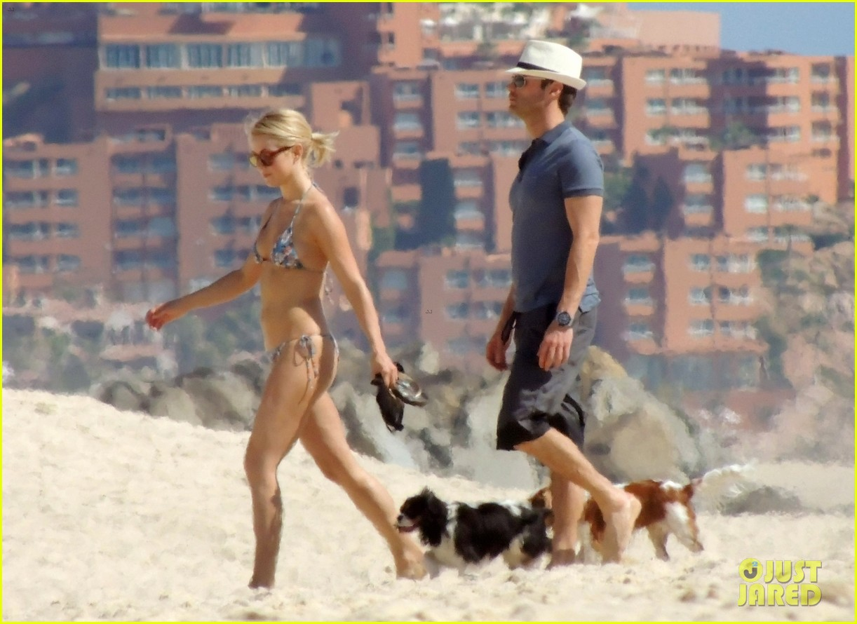 julianne hough bikini beach day ryan seacrest 07