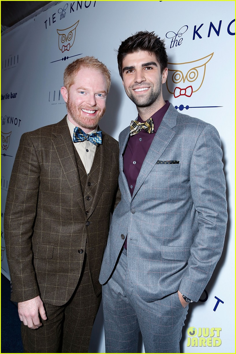 jesse tyler ferguson fiance justin mikita launch tie the knot charity 17