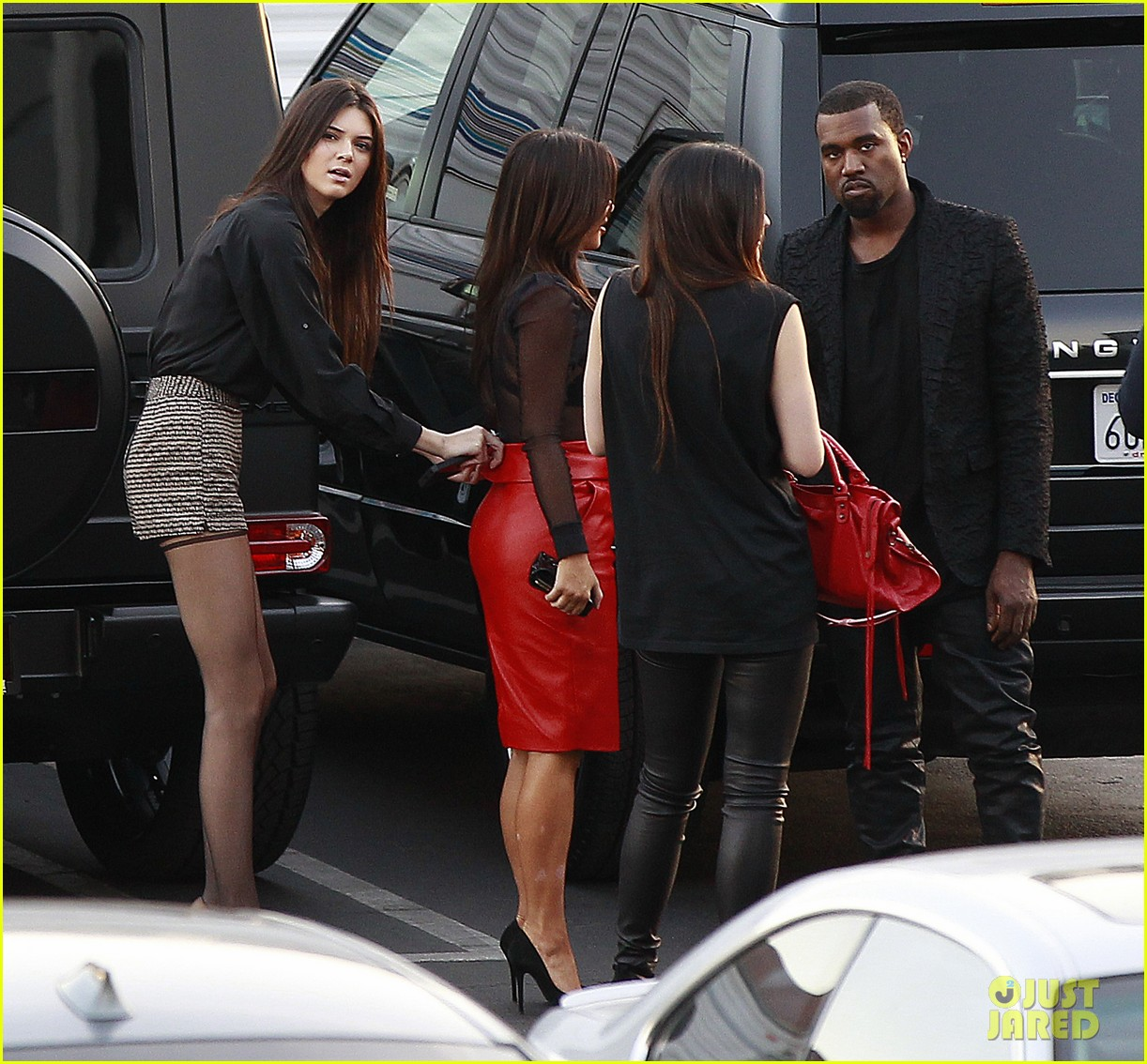 kim kardashian kanye west x factor dinner date 11