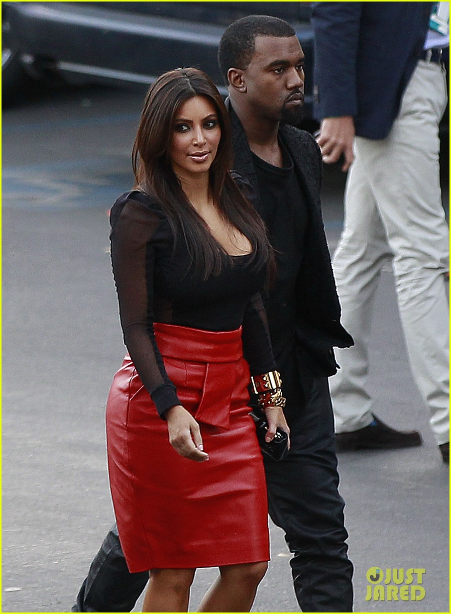 kim kardashian kanye west x factor dinner date 13