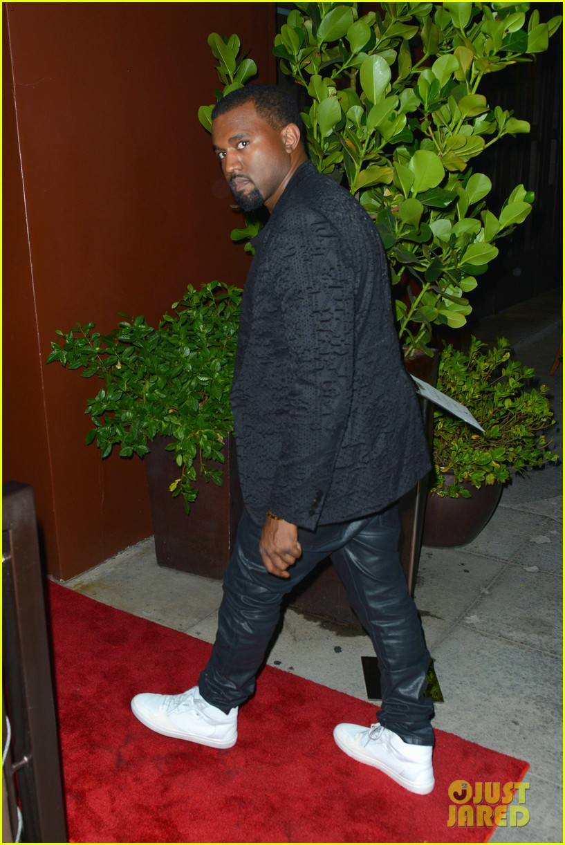 kim kardashian kanye west x factor dinner date 17