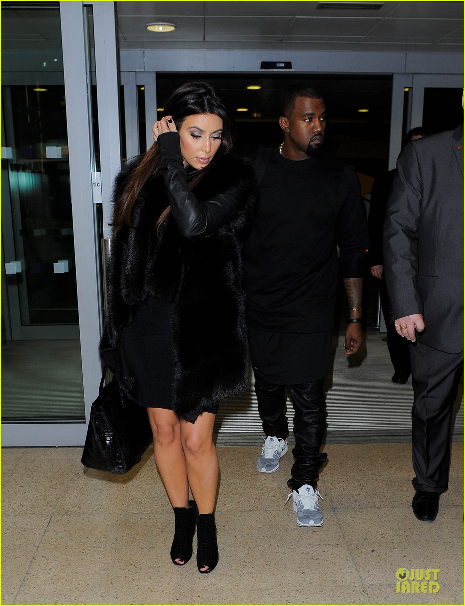 kim kardashian kanye west germany bound couple 01