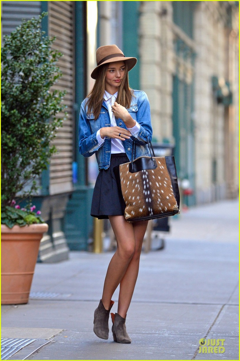 miranda kerr denim day in new york 06