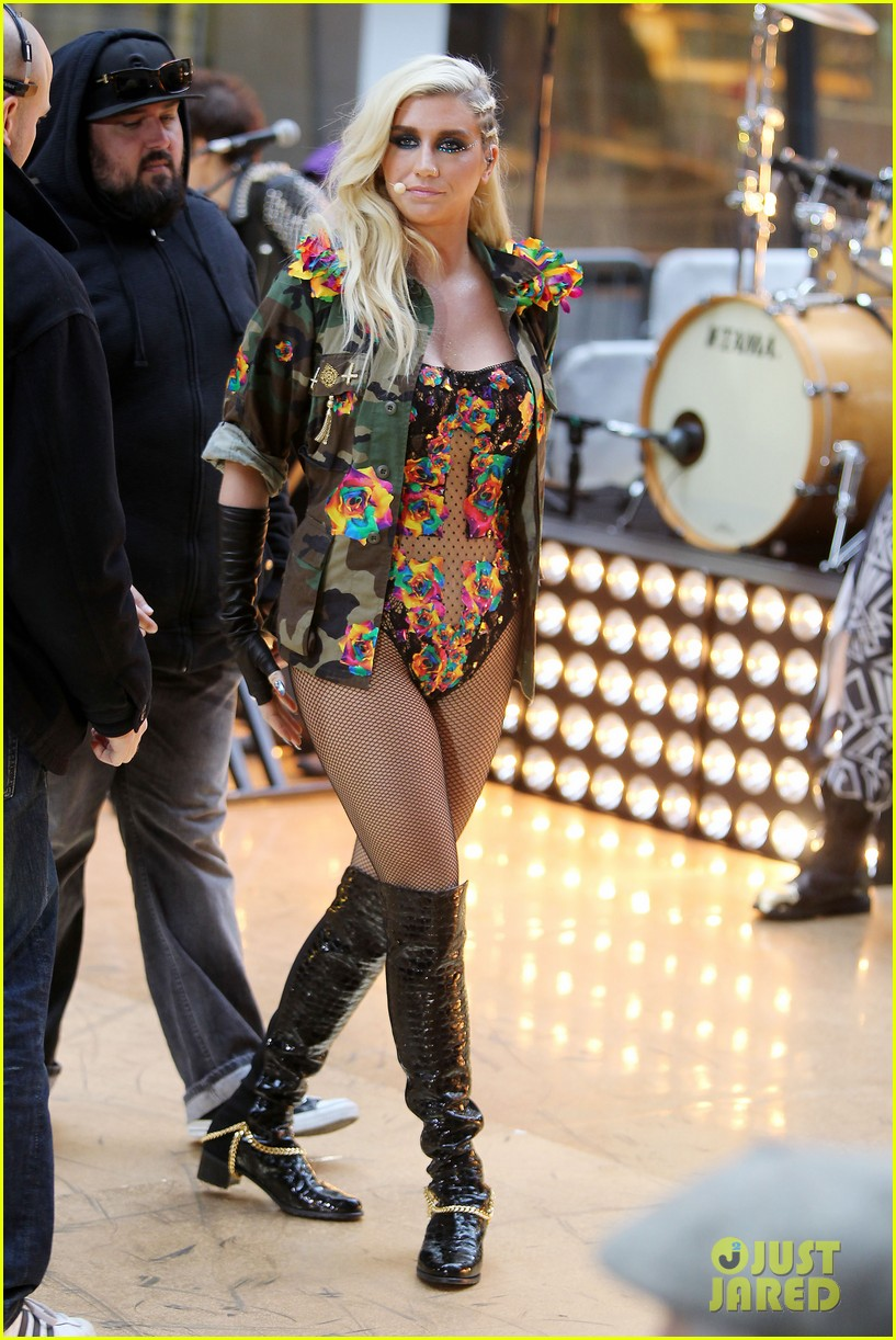 kesha today show concert watch now 09