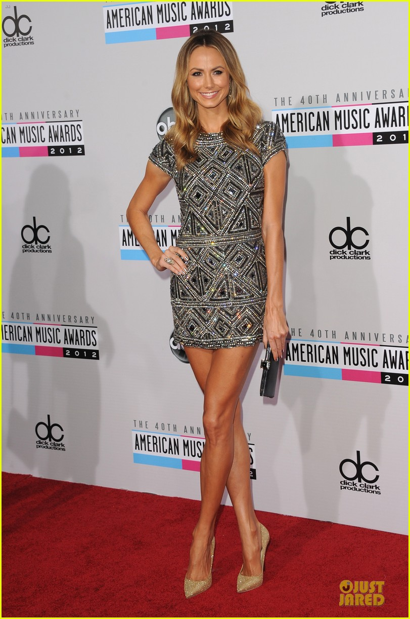 stacy kiebler amas red carpet 102760230