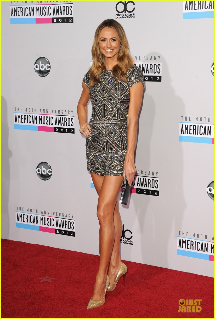 stacy kiebler amas red carpet 12