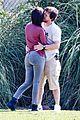 mark walhberg rhea durham soccer game kisses 03