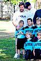 mark walhberg rhea durham soccer game kisses 07