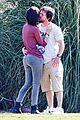 mark walhberg rhea durham soccer game kisses 12